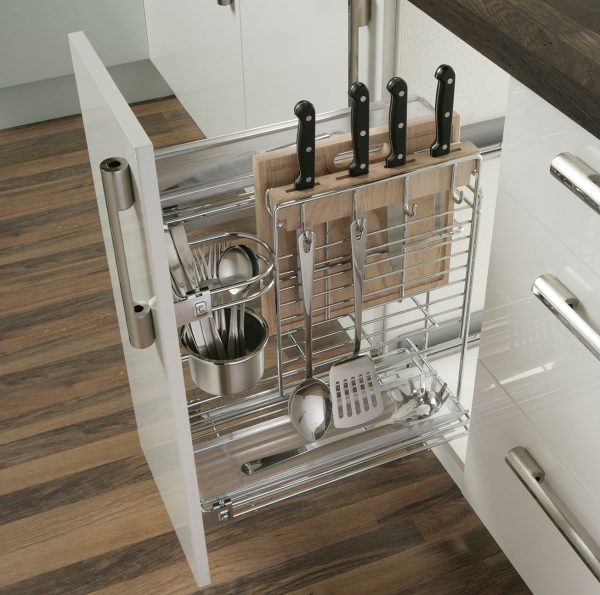 Inexpensive Kitchen Storage Ideas: Kitchen Cabinets With Drawers: 16 Functional Storage