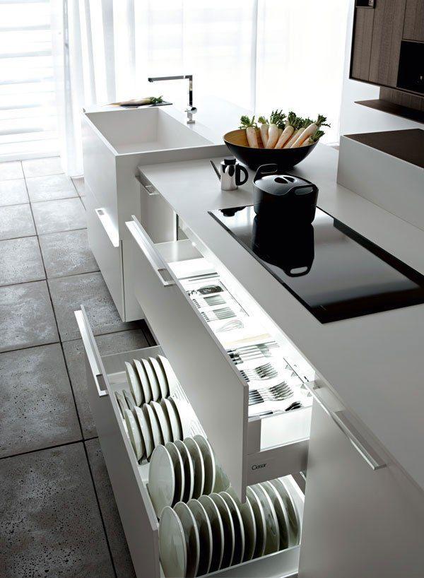 kitchen drawer organizer ideas