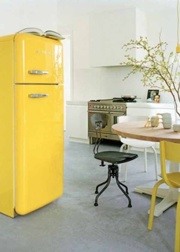 coloured fridges
