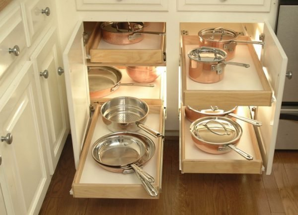 functional storage solutions - Functional Kitchen Cabinets