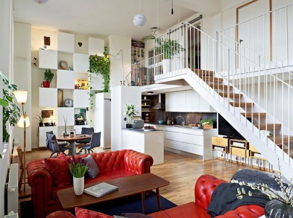 ideas for under the stairs space