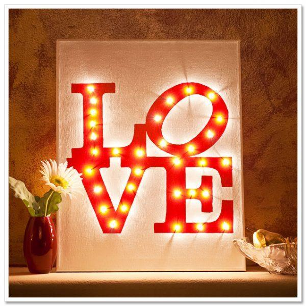 valentine light decorations