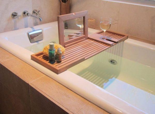 15 Bathtub Caddies For Comfortable Bathing Little Piece