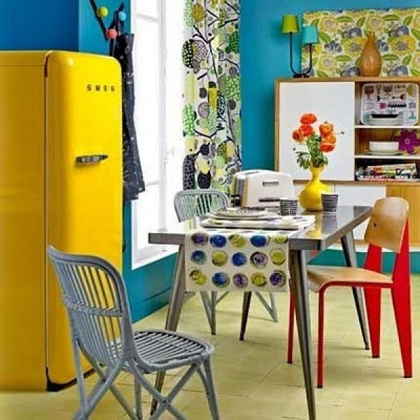 retro looking fridges
