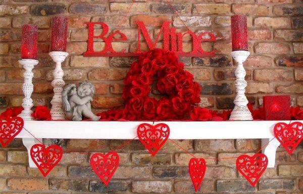valentines home decor