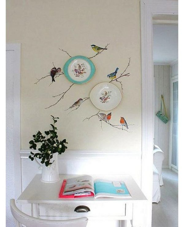 24 Inspirational ideas with plates on wall