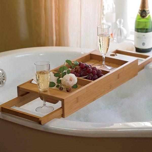 15 Bathtub Caddies For Comfortable Bathing - Little Piece Of Me