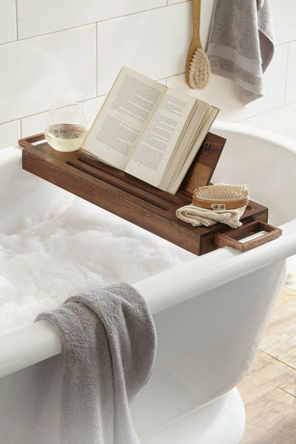 15 Bathtub Caddies For Comfortable Bathing - Little Piece Of Me