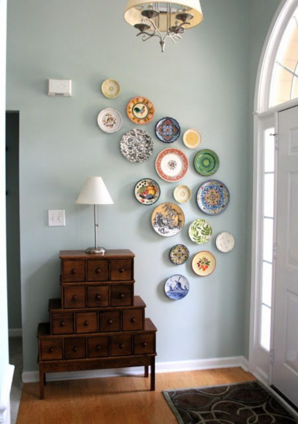 wall decor plates