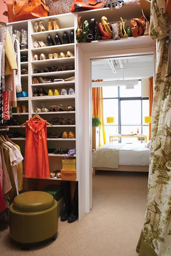 dressing room storage ideas
