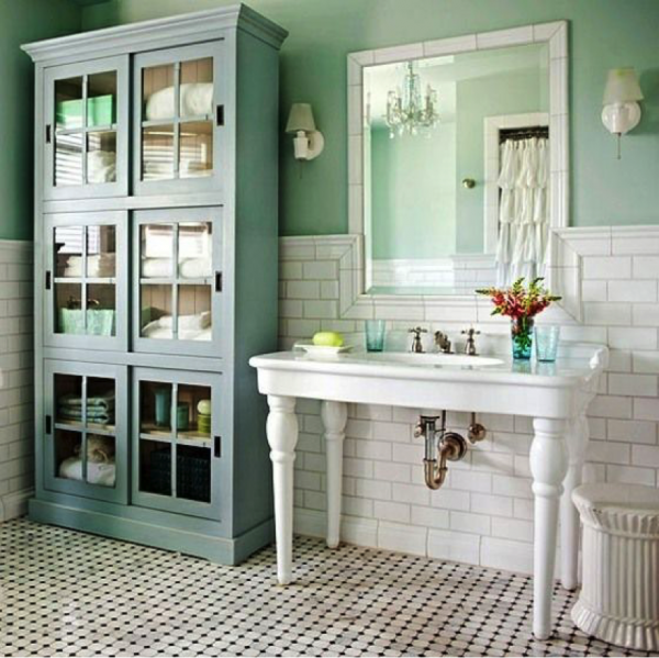 vintage bathrooms - 26 Vintage Bathroom Furniture - Little Piece Of Me