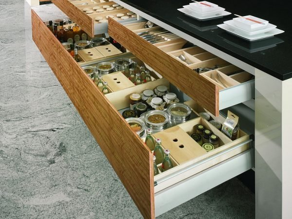 cabinets with drawers
