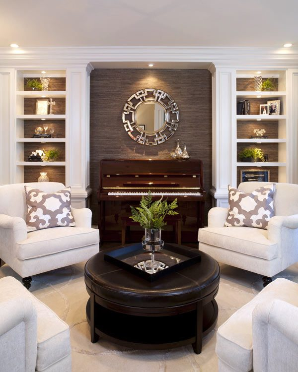 living room piano