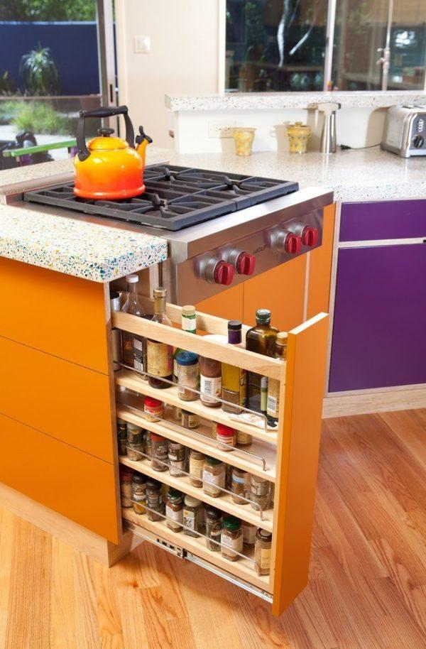 kitchen cabinet drawer organizers
