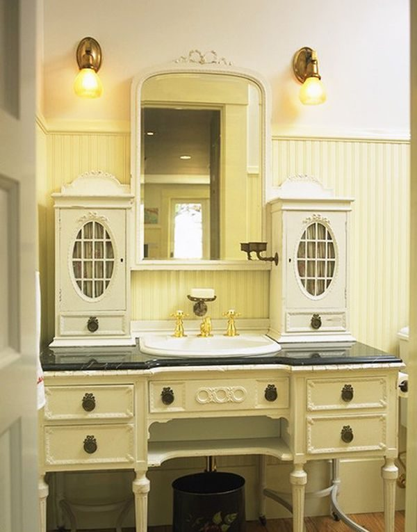vintage bathroom cabinets