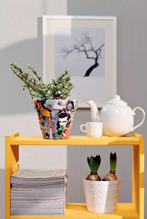 home decor flower pots