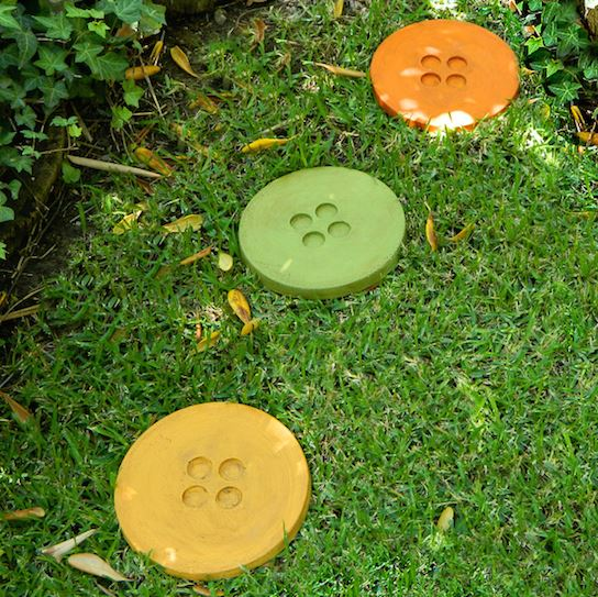 outdoor stepping stones