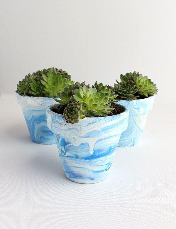 Diy Decorative Flower Pots Littlepieceofme