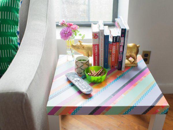 washi tape table 1