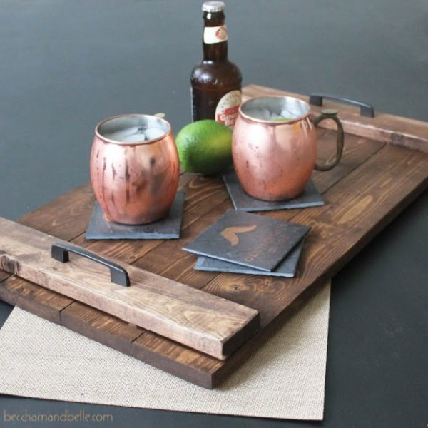 cheap wooden serving trays