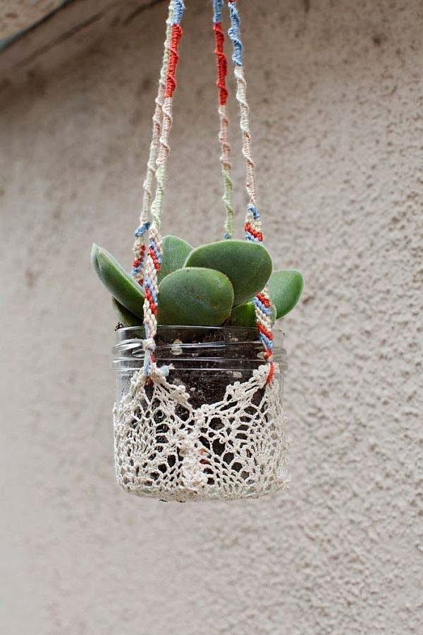 creative plant hangers