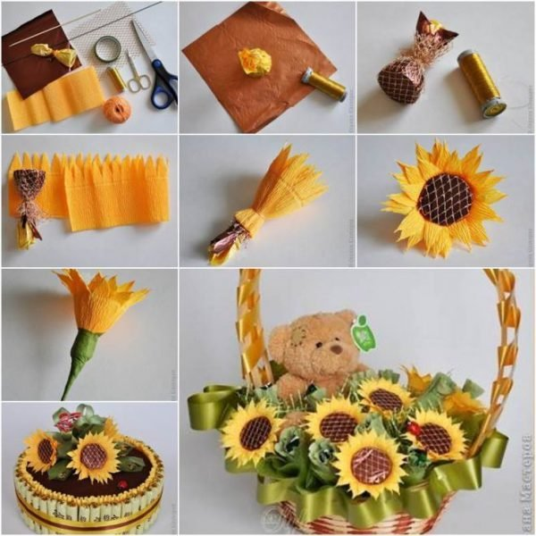 how to make a paper flower bouquet