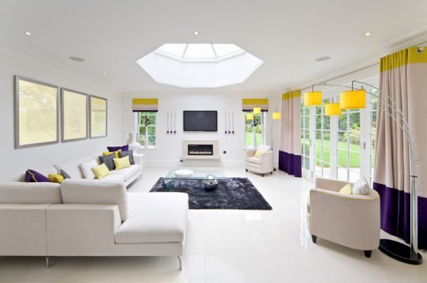 skylight living room