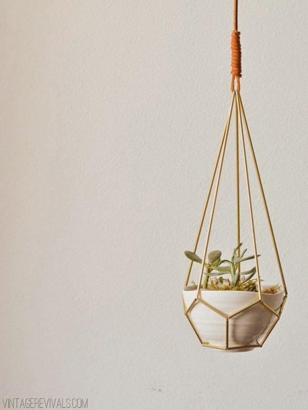 modern plant hangers