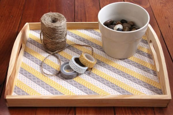 serving tray decoration ideas