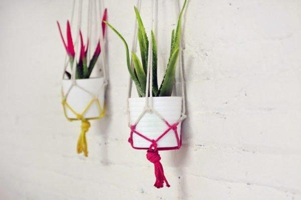 decorative indoor plant hangers