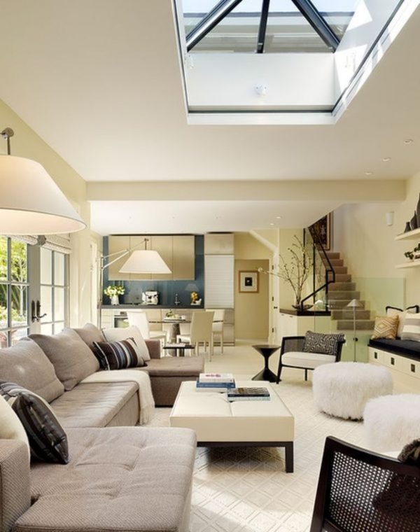Living room skylights 1