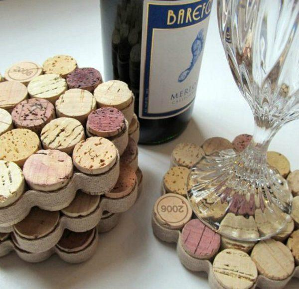 cork coasters diy