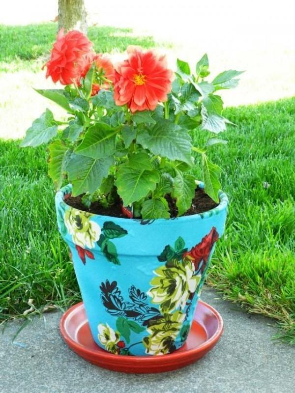 diy decorative flower pots little piece of me