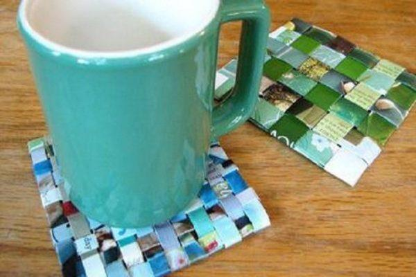 paper coasters diy