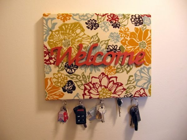 cute key holders for wall