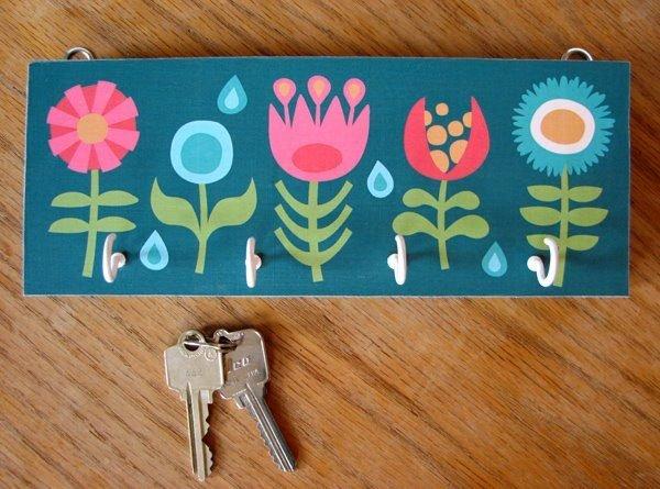 decorative wall key holders