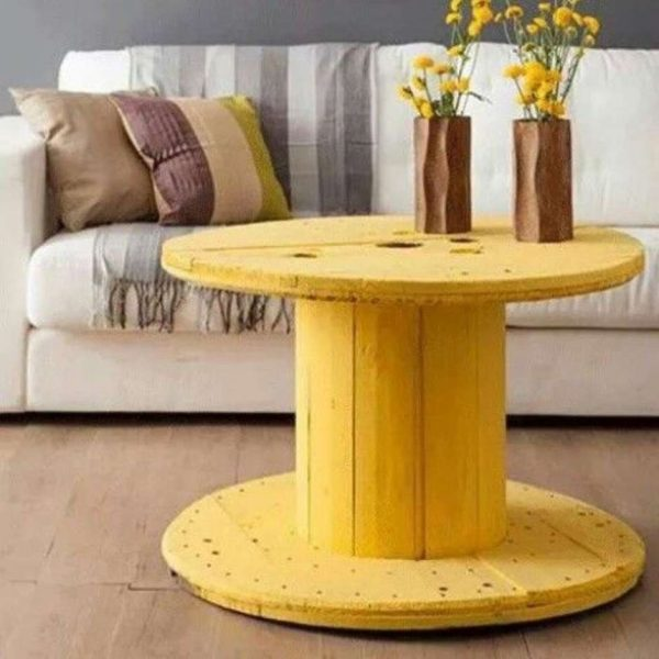 25 Cable spool furniture ideas