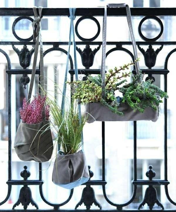 fence plant hangers