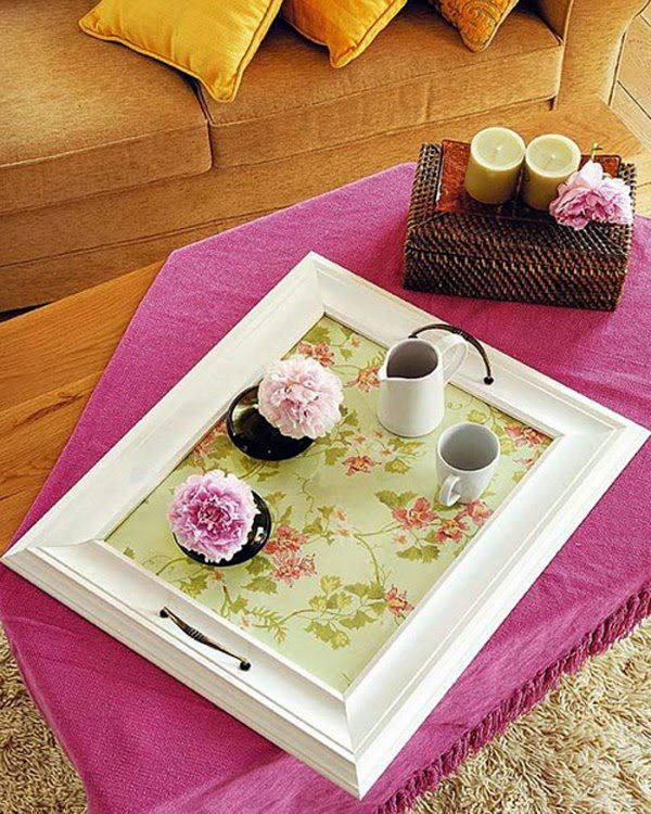 Diy: Pretty serving trays