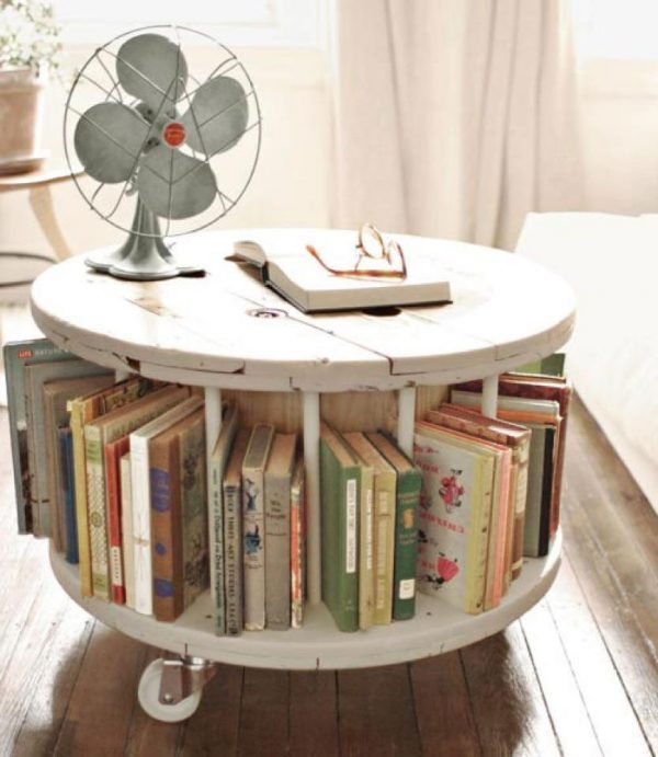 cable spool furniture 1