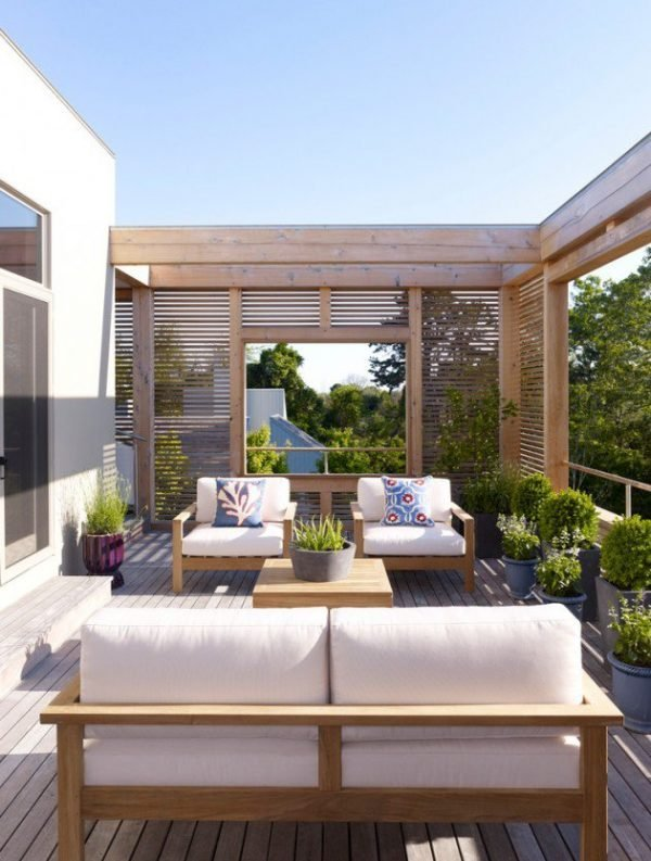 wooden deck ideas