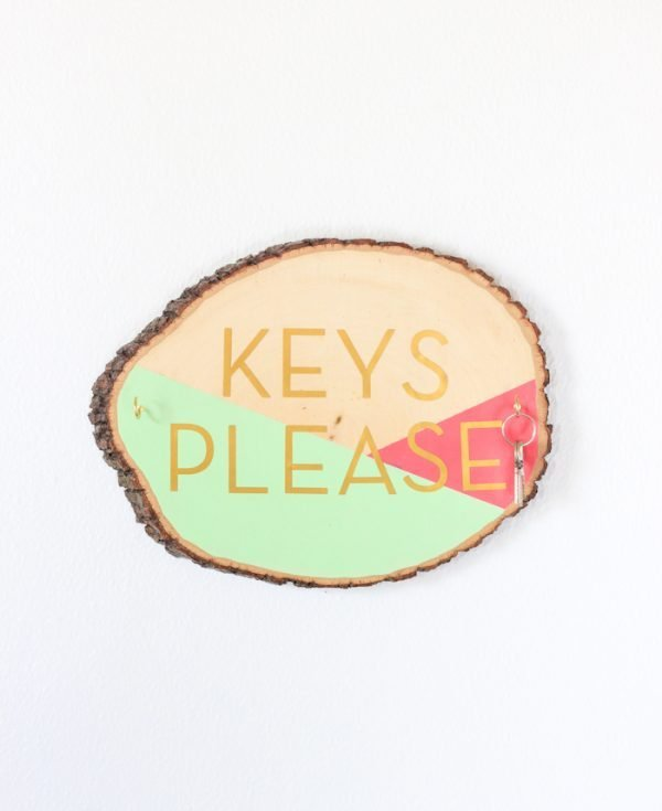 wooden key holder designs