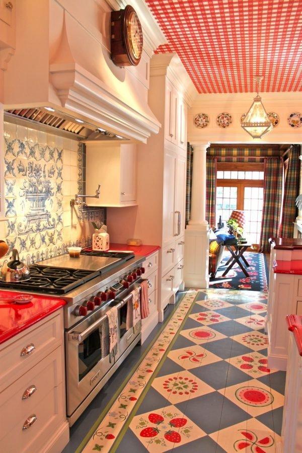ideas for kitchen floors