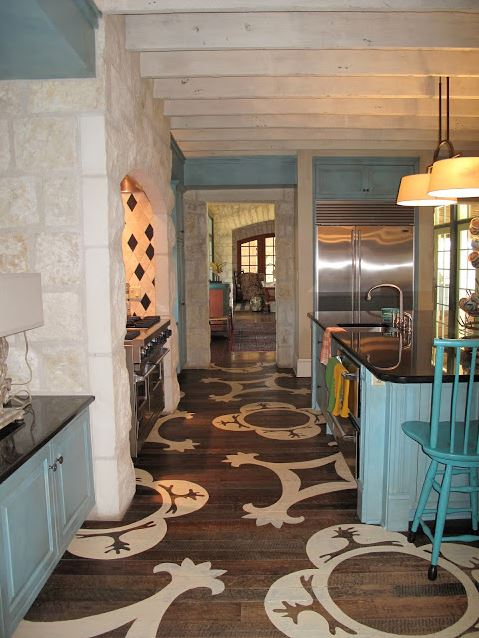 Flooring ideas for kitchen