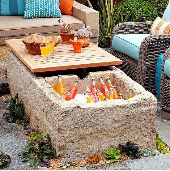 outdoor drink cooler