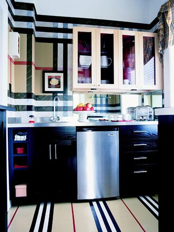 modern kitchen floor