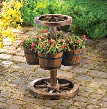 Wooden flowerpots-1