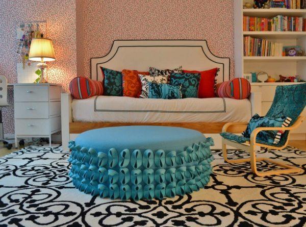 decorative ottoman