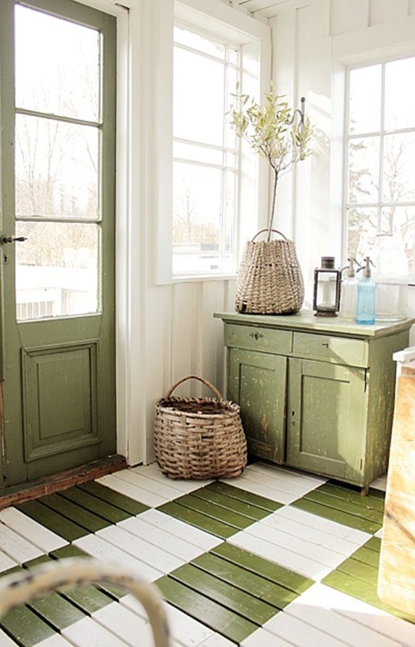 painted flooring 15 flooring ideas for kitchen that will impress you littlepieceofme