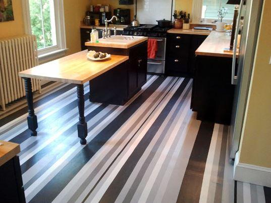 kitchen floor paint ideas - desain kitchen 2017